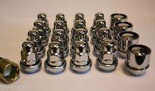 M12 X 1.5 VARIABLE WOBBLY ALLOY WHEEL NUTS & LOCKS MAZDA 3 5 6 MX-5 RX-7 RX-8