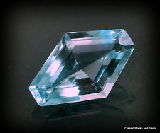 Aquamarine Faceted Aquamarin Aquamarina Beryl 2.80ct