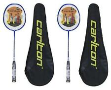 2 x Carlton Powerblade Titanium Badminton Rackets with Carry Cases RRP £340