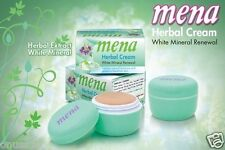 2 MENA Extra Whitening Herbal Mineral Renewal Anti-Aging Cream 3g./0.1oz.