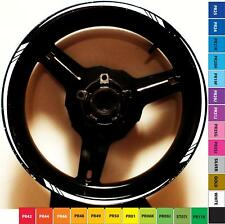 CUSTOM RIM STRIPES WHEEL DECALS TAPE STICKERS YAMAHA YZF R1 R6 R3 600 1000 300