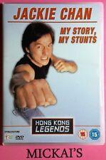 MY STORY MY STUNTS - HONG KONG LEGENDS (HKLS01) JACKIE CHAN DeAGOSTINI DVD PAL