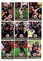 2016 CFL Ottawa Red Blacks Lot of 9 Cards Greg Ellingson, Jackson, Lavoie more