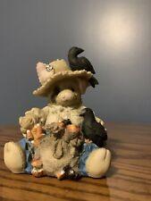 "1995 Enesco Figurine This Little Piggy Share Crow 3"" tall Vintage"