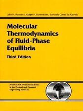 Molecular Thermodynamics of Fluid-Phase Equilibria by John M. Prausnitz, Edmundo