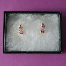 Unbranded Ruby Yellow Gold Filled Fine Jewellery