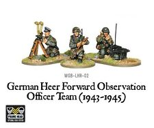 WARLORD GAMES Bolt ACTION NUOVO con scatola tedesco Heer Foo Team (1943-45) wgb-lhr-02