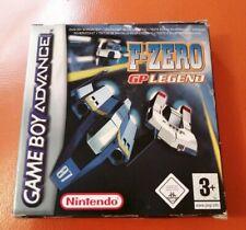 Gameboy Advance F-ZERO GP LEGEND  Boxed & Complete GBA PAL UK 3+
