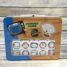 2004 Sababa Toys FAMILY GUY 28 Super Size Dominos Tin Game Set SEALED