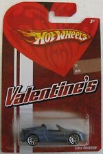 Hot Wheels 2008 Valentines TESLA ROADSTER grayish blue metallic