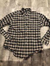 Polo Ralph Lauren Plaid Shirt Mens L In EUC Heavy Cotton