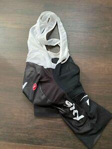 Castelli Inferno Bibs Shorts Team Sky Small Black Kickr Zwift Froome Thomas Wigg