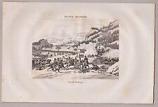 Original-Kupferstiche (1800-1899) aus Deutschland mit Militär- & Schlachtmotiven