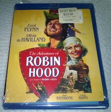 The Adventures of Robin Hood (Blu-ray, 2008, Canada) Special Edition NEW