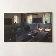Farmers Museum Cooperstown New York School House Unposted Postcard
