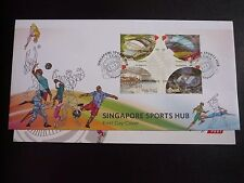 Singapore Sports Hub Stamps First Day Cover Sports 5 Sept 2014 FDC