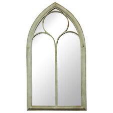 Charles Bentley Garden Glass Mirror - Wrought Iron & Glass - Gothic