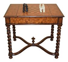 L47019: THEODORE ALEXANDER 5205-014 Inlaid Games Table w Reservable Top ~ NEW