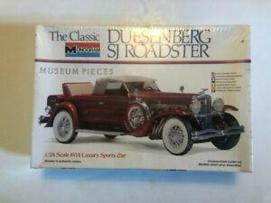 Monogram 1934 Duesenberg SJ Roadster 1/24 Scale Plastic Model Kit