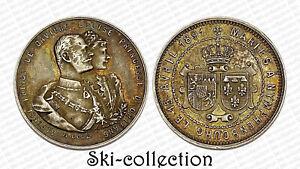 Rare Medal Wedding Prince Alfons of Bavaria & Louise Princess D'Orleans 1891
