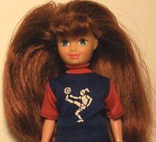 "Vintage 1992 Kid Kore 7 1/2"" Doll w/Auburn Hair"