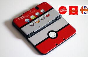 Pokemon Pokeball NINTENDO 3DS LL / XL Protective Case Cover Shell Top & Bottom
