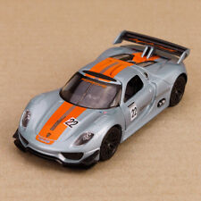 2011 Porsche 918 RSR Hybrid Diecast 12cm Long Model Car Highly Detailed Pullback