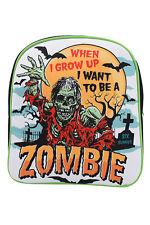 Six Bunnies When I Grow Up Zombie Kids Backpack