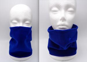 Nike Basic Neck Face Warmer Fleece Deep Royal Blue Men's Women's
