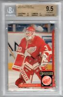 BGS 9.5 Gem Mint CHRIS OSGOOD 1993/94 Donruss ROOKIE Card RED WINGS HOF?