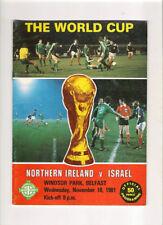 Teams L-N Northern Ireland World Cup Football Programmes
