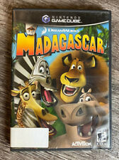Dreamworks Madagascar Video Game Nintendo Gamecube Complete With Manual Tested
