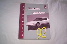 92 Oldsmobile Toronado / Trofeo Service Manual -Check This Out-