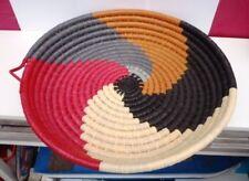 Straw Moroccan Decorative Baskets