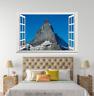 3D Rocks Hills Sky 158 Open Windows WallPaper Murals Wall Print AJ Carly