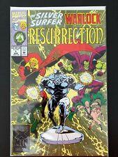 SILVER SURFER WARLOCK RESURRECTION #1 MARVEL COMICS 1993 NM+