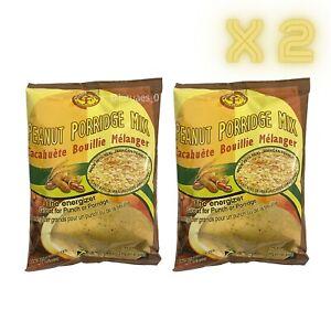 2 Pack Creation Foods Peanut (200g) Porridge Mix NEW