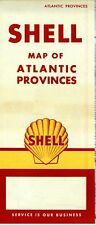 1959 Shell Road Map: Atlantic Provinces NOS