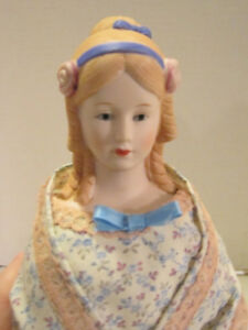 """Vint 1980's bisque Shackman 20""""Lady COMPLETED kit doll-dressed-excellent quality"""