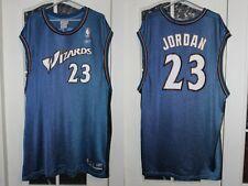 Washington Wizards #23 Jordan Reebok Blue Basketball shirt jersey size 2XL