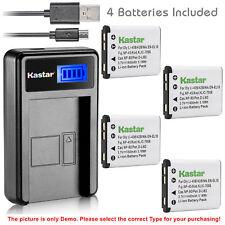 Kastar Battery LCD Charger for Kodak KLIC-7006 & Easyshare M750 Easyshare M873