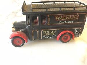 Lledo Promotional Model. Vintage Van with Walkers Crisps Livery.