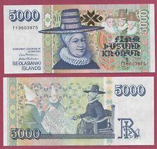 More details for iceland 5000 krona - p60a.3 - (2005-2009) - unc  - 2 signatures