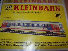 Kleinbahn Preisliste..lt.abbl..