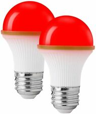 2 PACK Colored Light Bulbs RED ROMANCE Colored LED Light Bulbs Night Light Bulbs