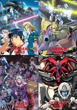 MOBILE SUIT GUNDAM 0083 Stardust memory 4 DVD in 4 BOX Serie completa ENG Bandai