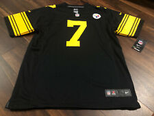 Nike Pittsburgh Steelers Ben Roethlisberger Youth Jersey Size XL #7 Black