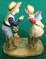 "Norman Rockwell Figurine ""Beguiling Buttercup� Gorham Spring"