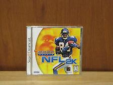 NFL 2K Sega Dreamcast Game