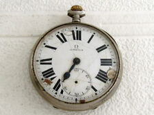 OMEGA Antique 1912-1916 Swiss Men's Pocket Watch for REPAIRING